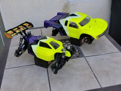 Mugen MBX7r Eco and Tekno SCT410.3