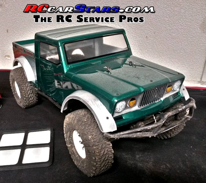 Axial SCX10 NuKizer Body Custom Painted