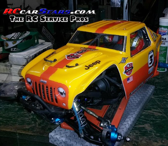 Axial Yeti Jeep Body Custom Painted