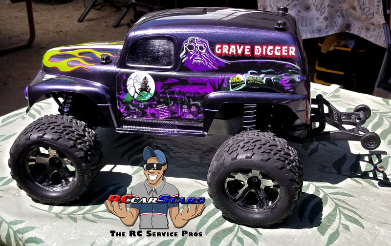 Traxxas Stampede - Jconcepts Panel Truck Body with Custom Paint and Decals.