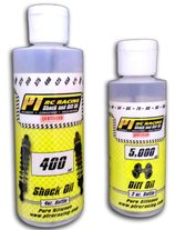 PT RC Racing Oils available in two size bottles